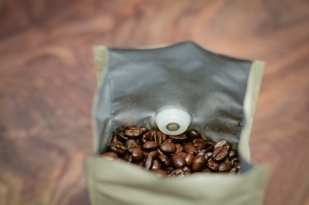 why do coffee bags have vents?