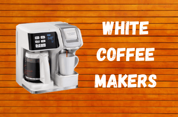 18 Elegant White Coffee Makers You Need to See